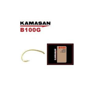 Kamasan B100 grubber krókur gull