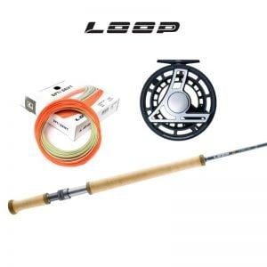 Loop Q 11' #4 switch-pakki með Q hjóli og Opti Drift flotlínu